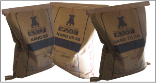 Free Cement Castable, Nano Series