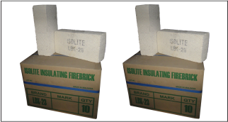 Isolite Insulating Fire Bricks