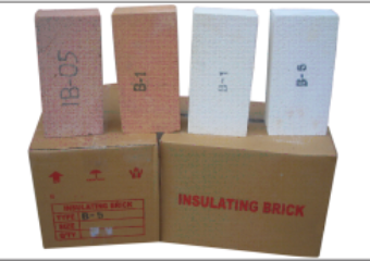 INSULATING BRICKS FOR BACK UP LINING