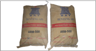 Acid Resistance Mortars, Arm 500